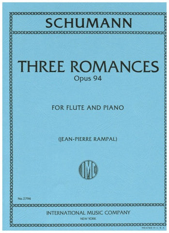 Schumann, Robert : Three Romances Op. 94