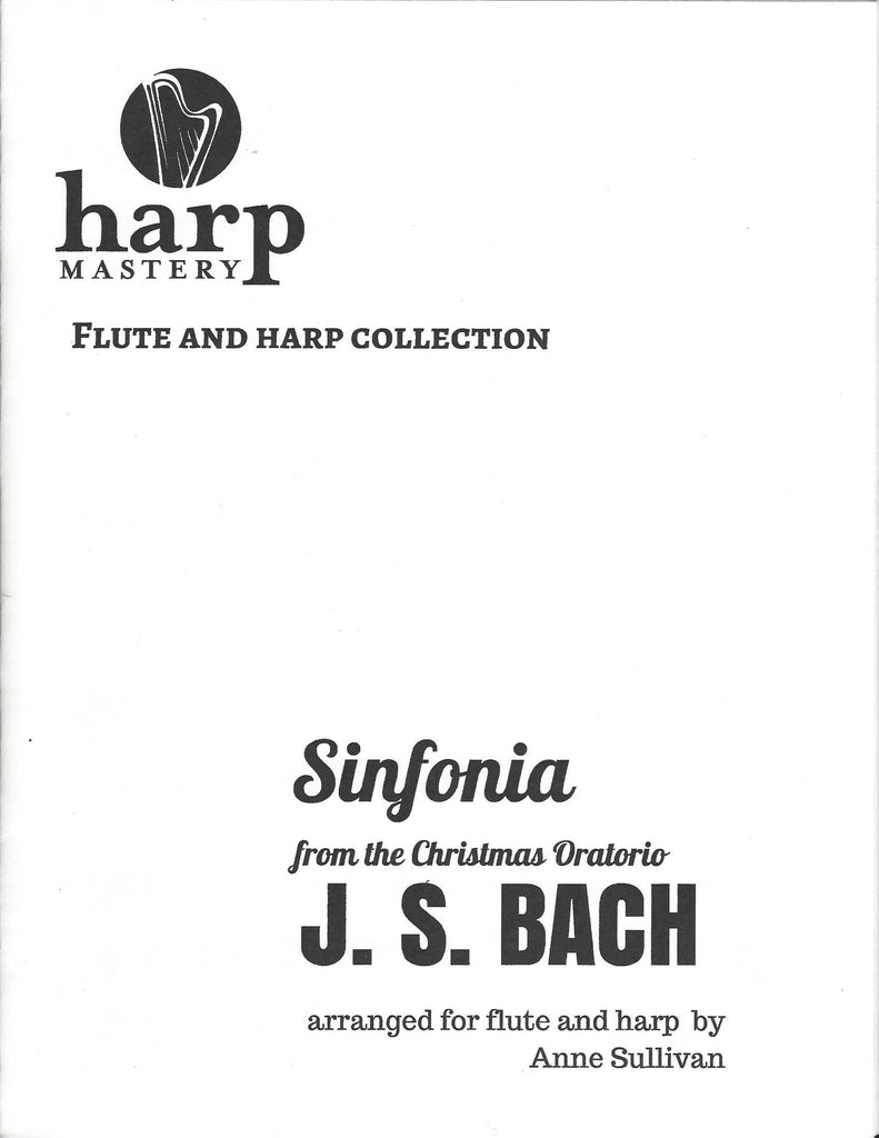 Sinfonia for Flute and Harp : J.S. Bach