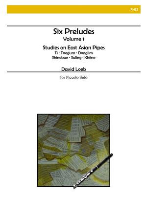 Loeb, David : Six Preludes Volume 1