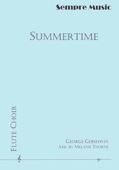 Gershwin, George : Summertime for Flute Choir