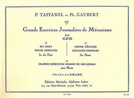 Taffanel and Gaubert: 17 Daily Exercises
