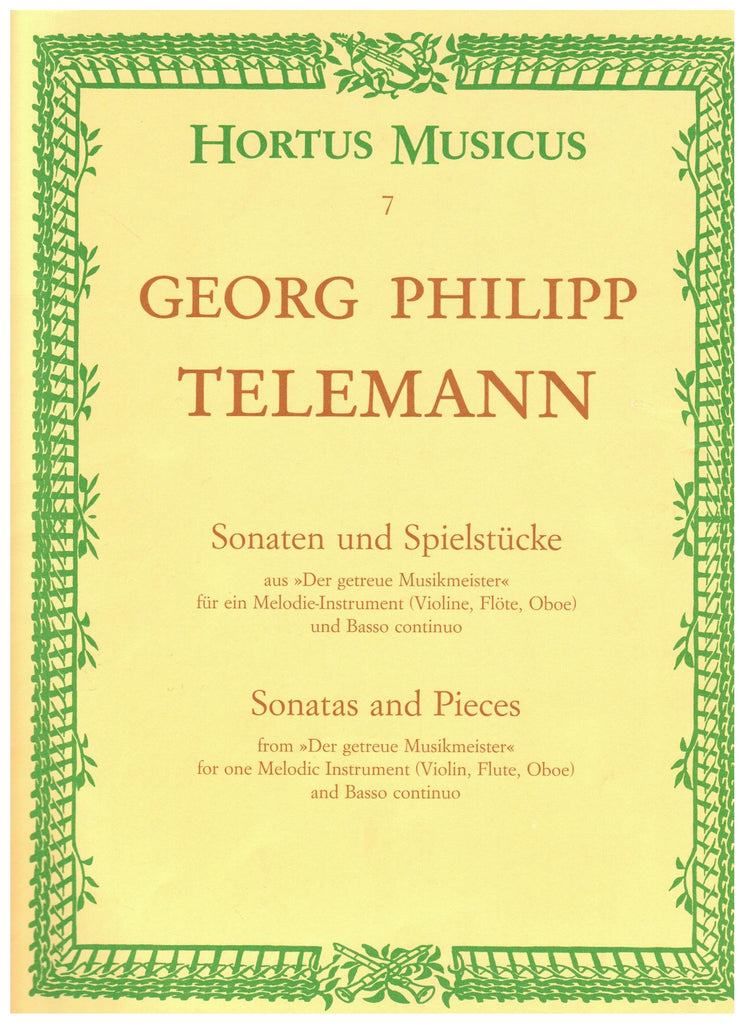 Telemann: Sonatas and Pieces