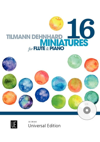 Dehnhard, Tilmann : Miniatures for Flute and Piano