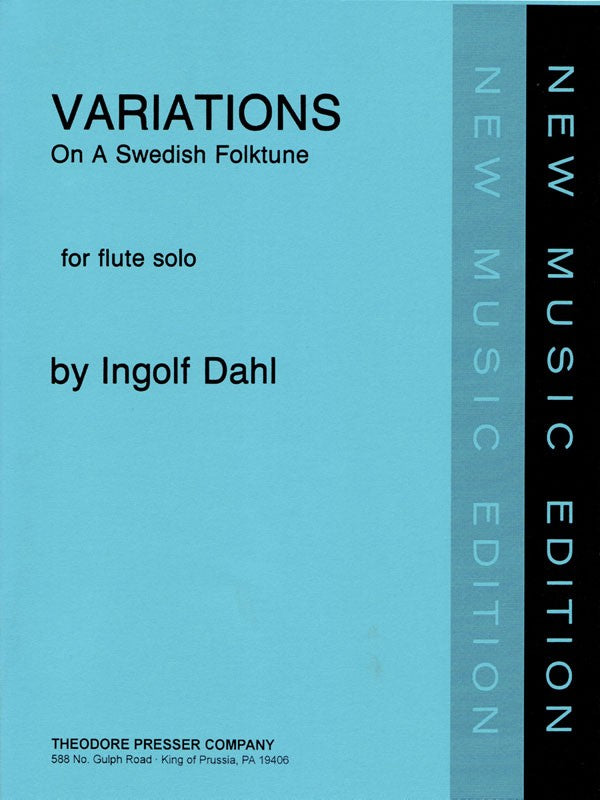 Dahl, Ingolf : Variations on a Swedish Folktune