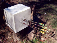 Archery target made with Hard SunMate (T50E)
