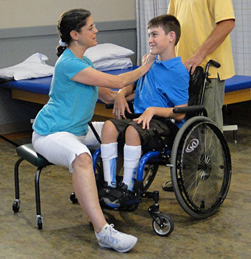wheelchair seating assessment with FIPS