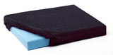 black velour slipcover for SunMate and Pudgee cushions