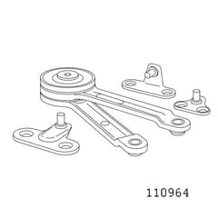 Akurum Horizontal Hinges #110964