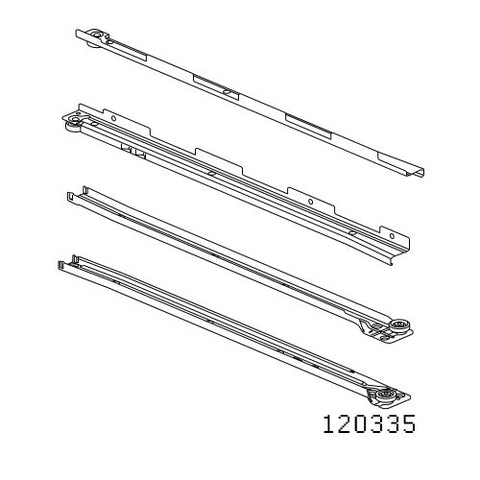Hemnes Chest Rails #120335