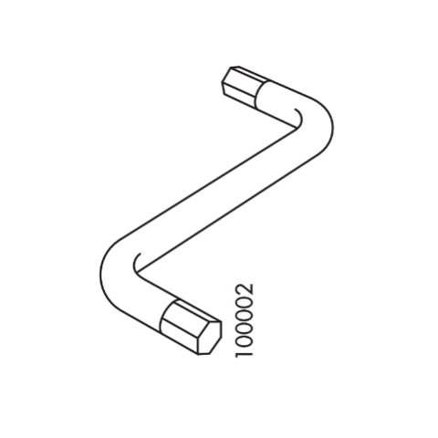 IKEA Allen Key (IKEA Part #100002)