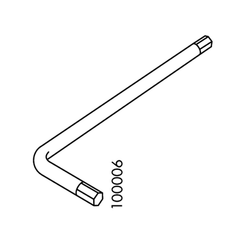 IKEA Allen Key (IKEA Part #100006)