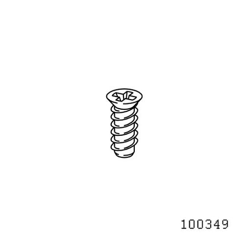 IKEA Flat Top Screw #100349