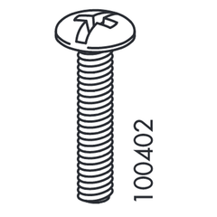 IKEA M/F Screws (IKEA Part #100402 & #100644)