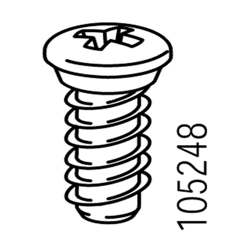 IKEA Beveled Top Hinge/Bracket Screws #105248