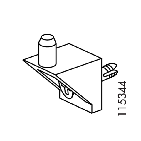 IKEA KOMPLEMENT Shelf Pins #115344