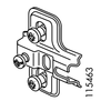 IKEA Ramberg Door Hinge Set (IKEA Part #114328 and #115463)