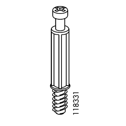 ikea cam lock screw 118331
