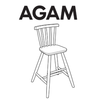 IKEA AGAM High Chair Replacement Parts