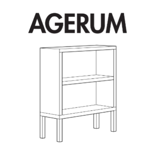 IKEA AGERUM Book Case Replacement Parts