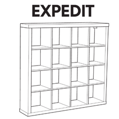 IKEA EXPEDIT Book Case Replacement Parts
