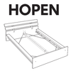 IKEA HOPEN Bed Frame Replacement Parts
