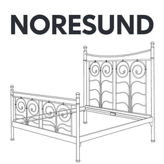 IKEA NORESUND Bed Frame Replacement Parts