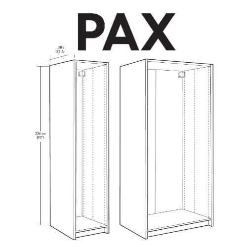 Faktum Ikea Monteringsanvisning ~ IKEA PAX Wardrobe Replacement Parts – FurnitureParts com
