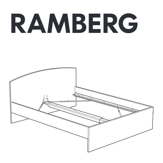 Ikea Ramberg Bed Frame Replacement Parts Furnitureparts Com