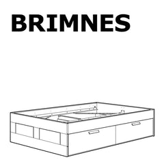 BRIMNES Bed Frame Replacement Parts