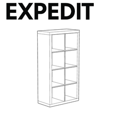 EXPEDIT Shelf Set