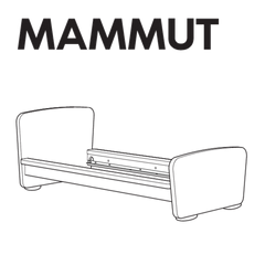 MAMMUT Bedframe Replacement Parts