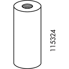 IKEA BILLY Bookcase Knob #115324 (White Finish)