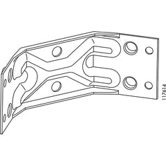 Bjursta Corner Bracket (IKEA Part #117614)