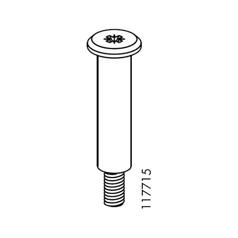 Bjursta Under-Frame Screw/Pin (IKEA Part #117715)