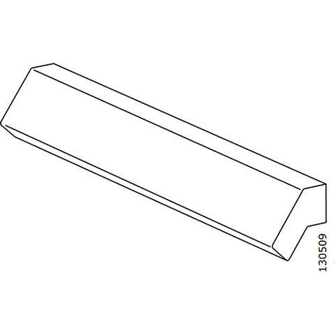 Brimnes Handle (White) (IKEA Part #130509)