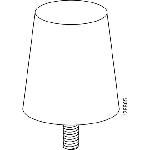 Friheten Sofa Leg (IKEA Part #128865)