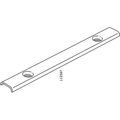 Pax Sliding Door Inner Connector (IKEA Part #112567)