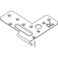 Pax Sliding Door Frame L Bracket (Right) (IKEA Part #120321)