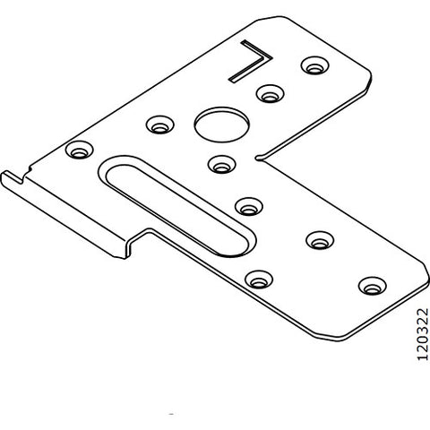 Pax Sliding Door Frame L Bracket (Left) (IKEA Part #120322)