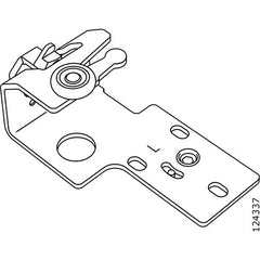 Pax Sliding Door Wheel Bracket (Left) (IKEA Part #124337)