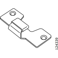 Pax Sliding Door U Bracket (IKEA Part #124339)