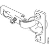 Billy Door Hinge Set (IKEA Part #109336)