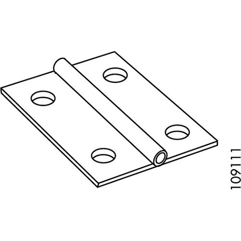 IKEA BJURSTA Drop-Leaf Hinges #109111