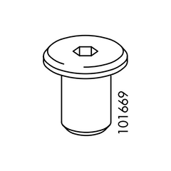 Top-Head Cyclinder Sleeve  (IKEA Part #101669)