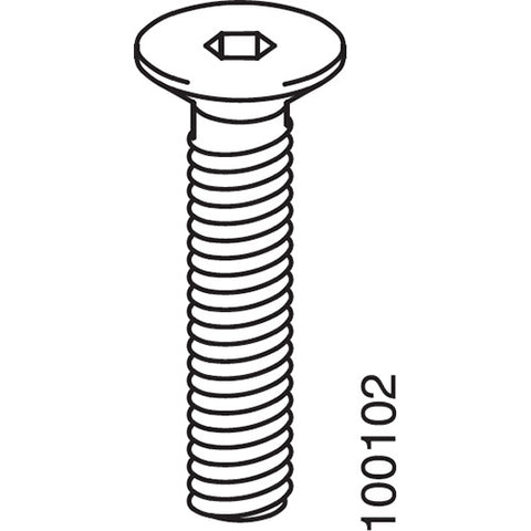 Flat Top Metric Screws (IKEA Part #100102)