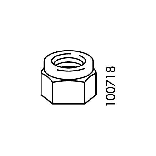 M8 Hex Nut (IKEA Part #100718)