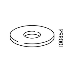 M8 Hole Washer  (IKEA Part #100854)