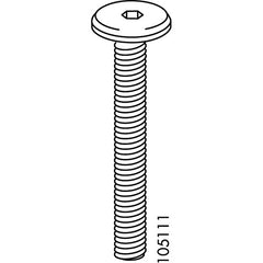Flat Top Metric Screws (IKEA Part #105111)