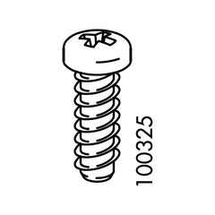 Bjursta Corner Bracket Screws (IKEA Part #100325)