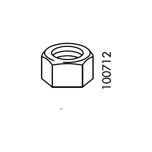 Bjursta Table Nut (IKEA Part #100712)